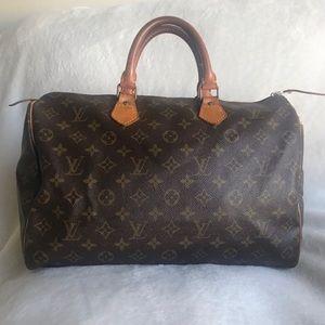 Authentic Louis Vuitton Speedy 35  ⭐️